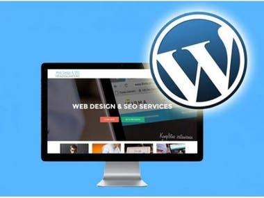 I will do web designer and developer by wordpress