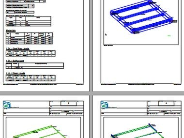 Detail Design Calculation of Steel Walkway