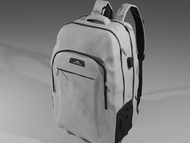 BAG 3D MODELING AND RENDERING