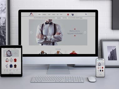Any kind of responsive web landing page design