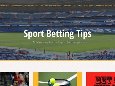 sport betting site