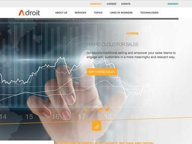 adroit.global Site
