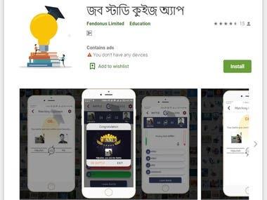 Online Quiz app