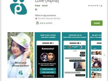 Palup App for Finding Friends & Love