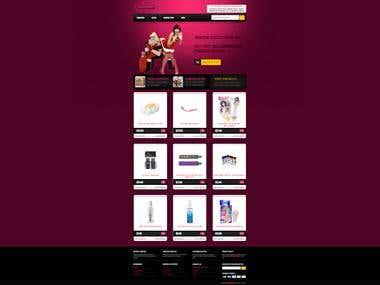 Magento Website - Sex Toys OMG!