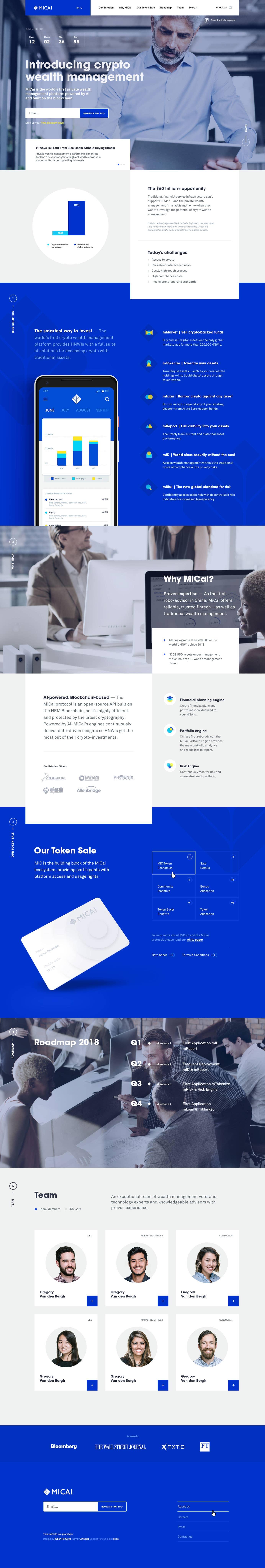 Micai Bitcoin Site