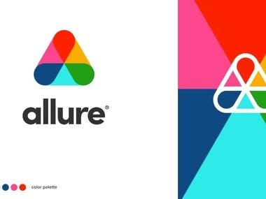 Allure Logo Design