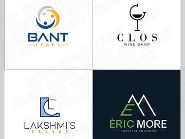 Minimal Icon based logo