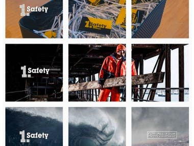 Social Media Management for Safety Clothing Company