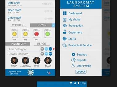 App design layout