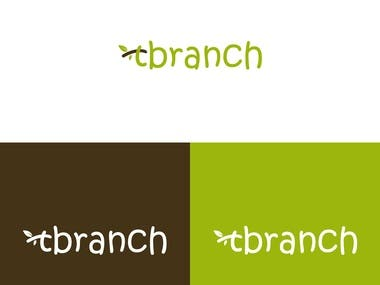 tbranch logo design