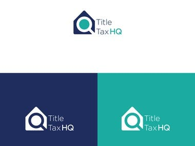title tax hq logo design