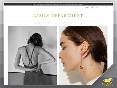 Shopify: Basic Department
