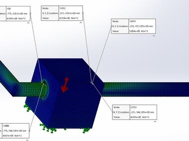 Finite Element Analysis Using Solidworks