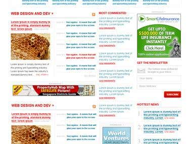PureNews WordPress Theme