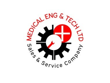 Medical Eng & Tech Logo Design