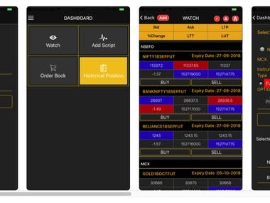 Swaptrade App (Android & iOS)