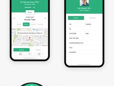 UI/UX for Application