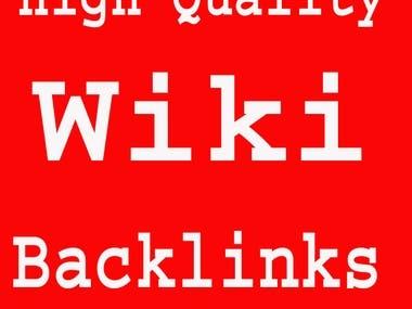 Create Wikipedia Backlinks