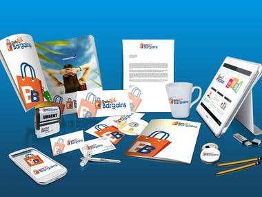 Mockup Design for BIZ Bargain