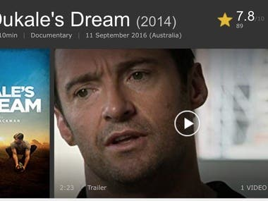 Doco Writer : Starring Hugh Jackman