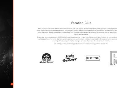 Vacation Club / Events