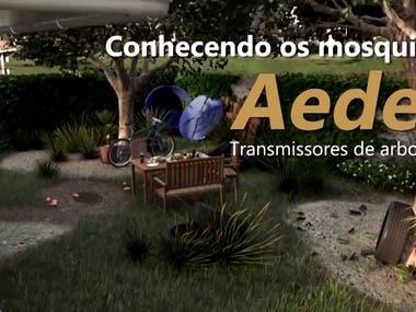 Conhecendo os mosquitos Aedes transmissores de arbovírus