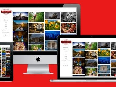 Photography Web Project