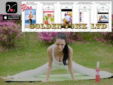 Yos - Women's Health & Fitness Community App
