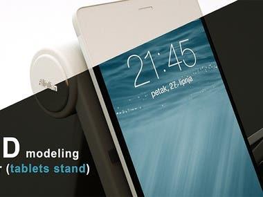 3D Design   Stand phone