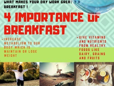 Poster of Importance of Breakfast