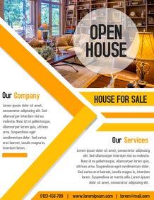 Real Estate Flyers Brochures