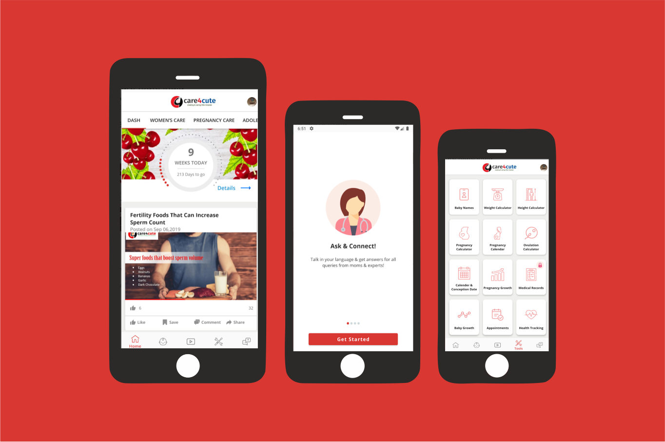 Care4Cute(Android And Ios App With Admin Panel/Back-end)