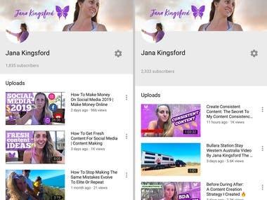 YouTube Optimization | Audit Van Life Vlog