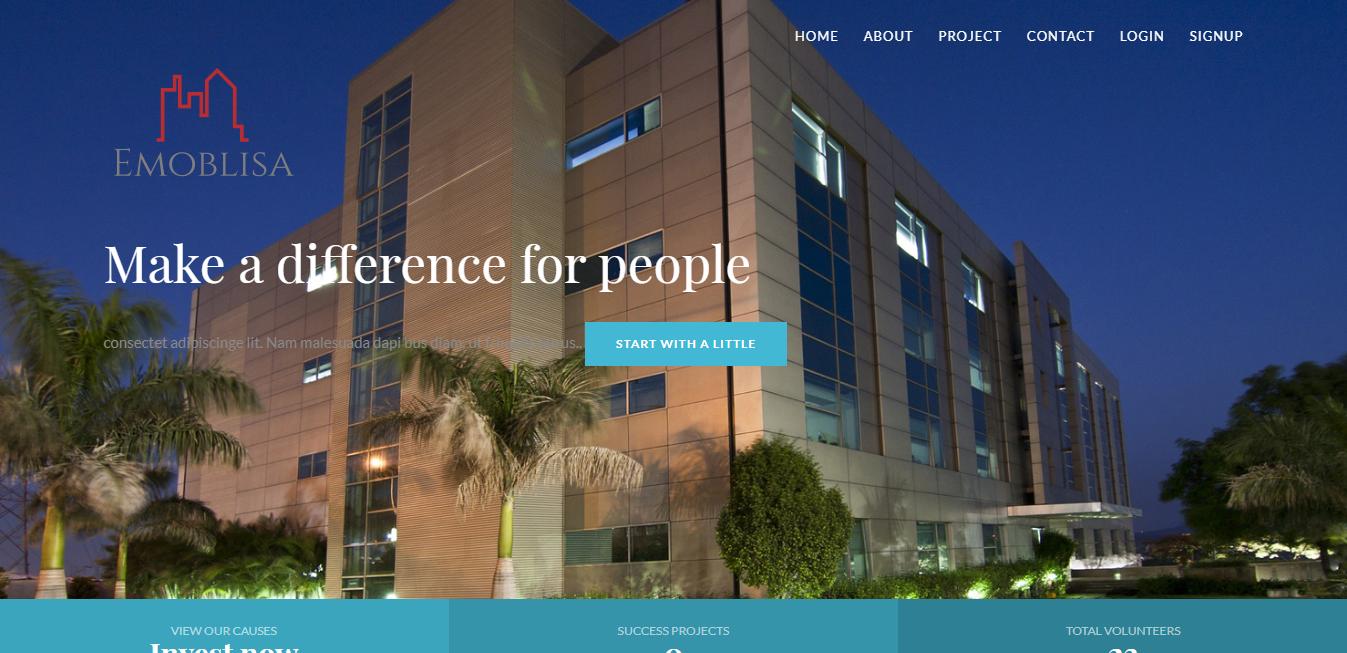 Estate website