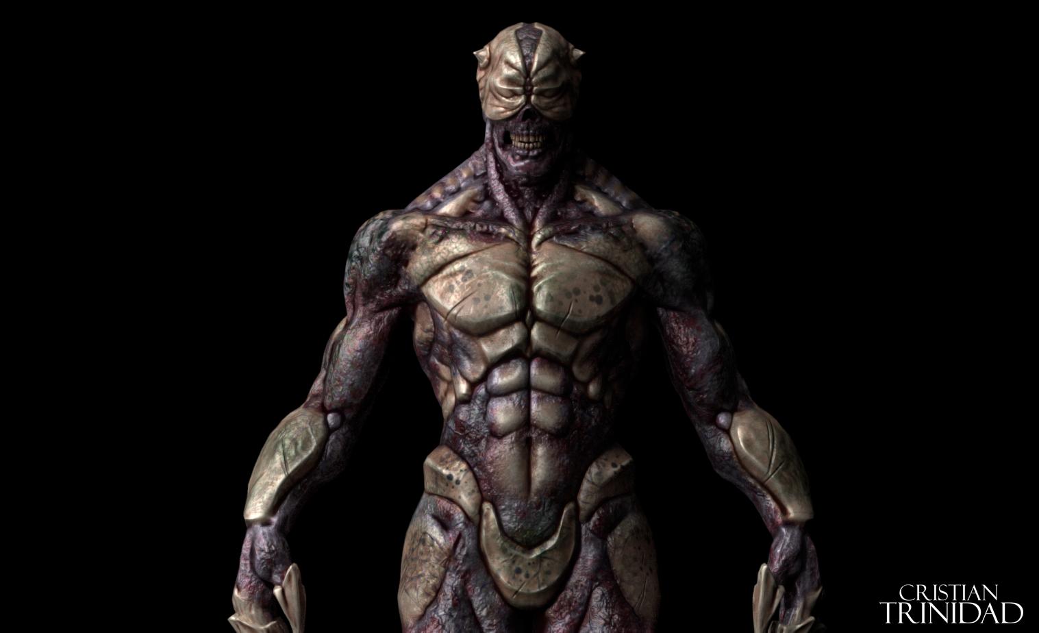 Demon 3D Low Poly