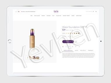 Responsible ecommerce app