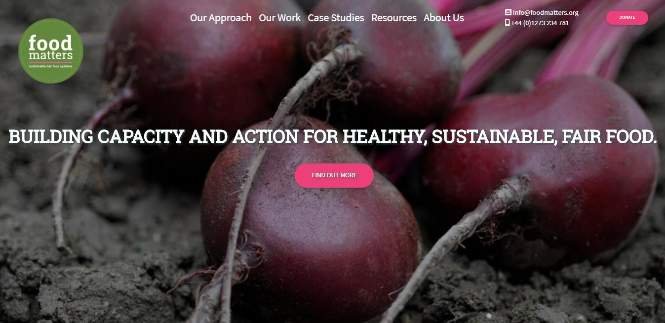 Charity Organisation Web site