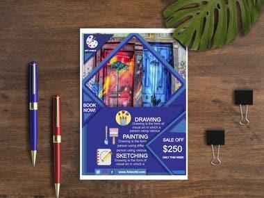 Flyer and brochure designer