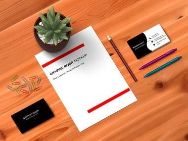 Business card and stationary designer