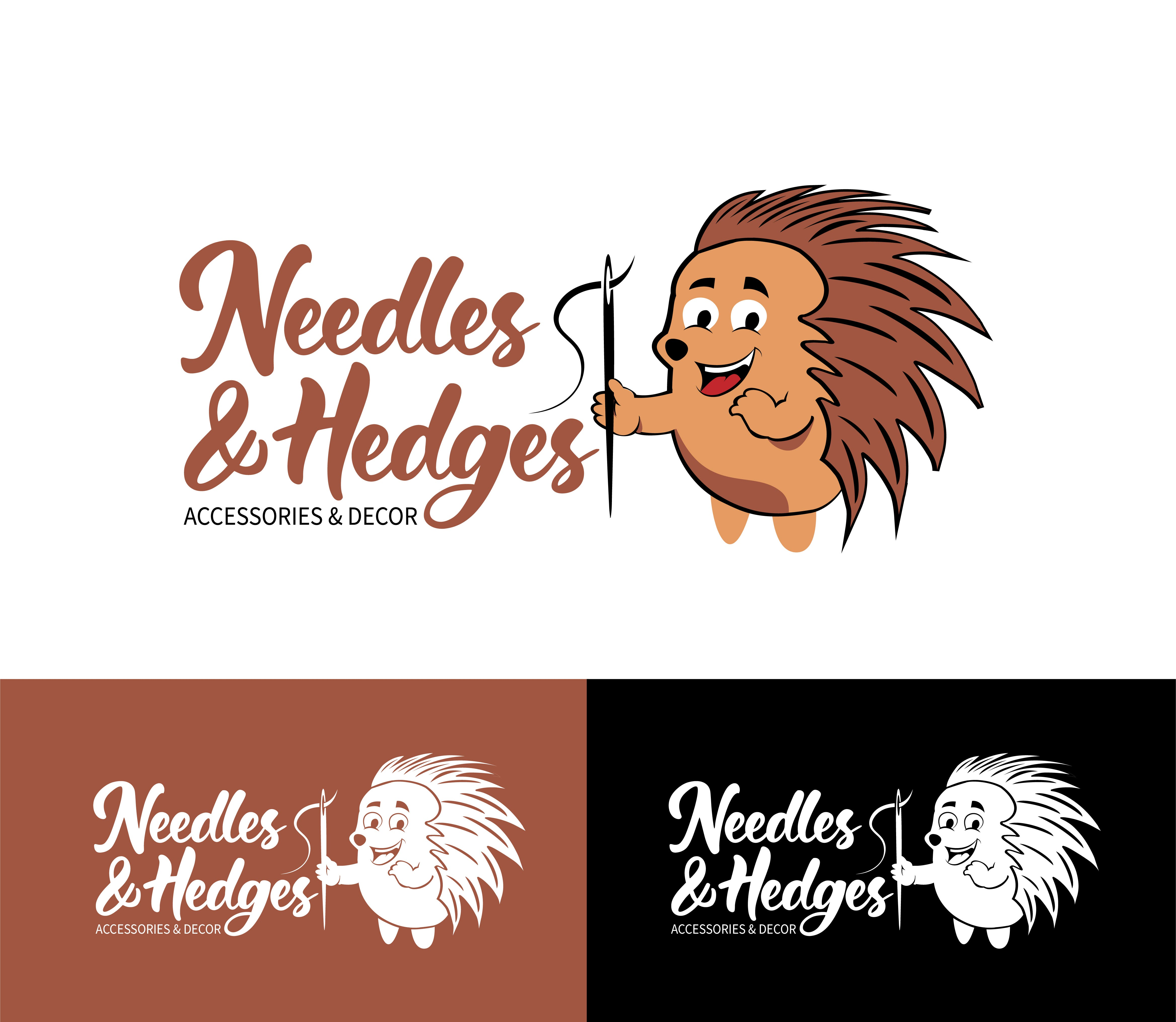 Need a new logo for Needles & Hedges