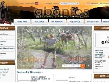 eCommerce Portal http://www.abantes.net/