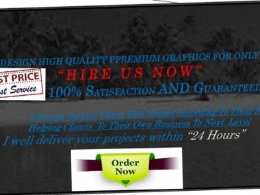 I will do an awesome web pages banner on illustrate fast.