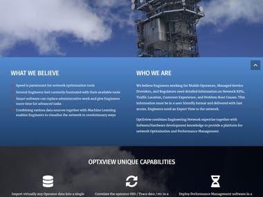 Website modernization