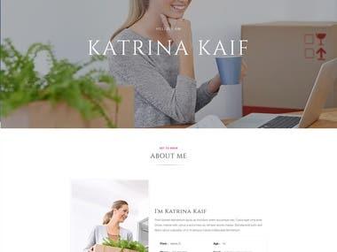 Katrina - Personal Portfolio