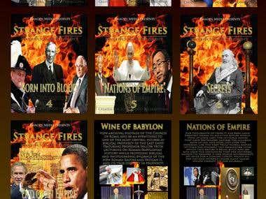 Strange Fires DVD Covers