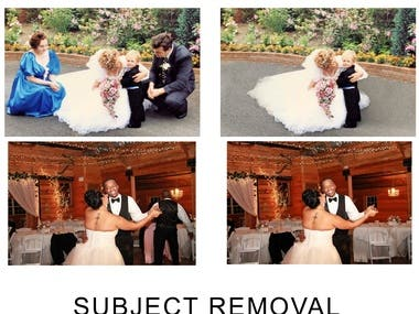Subject removal