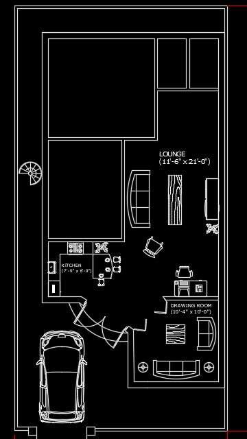 150 sq. yds Single Storey House Plan