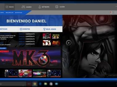 Online Arcade Platform - Prototype Emulador