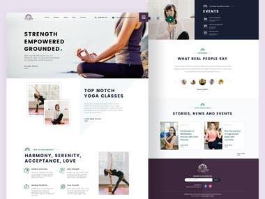 Website UI/UX | Angela David Yoga